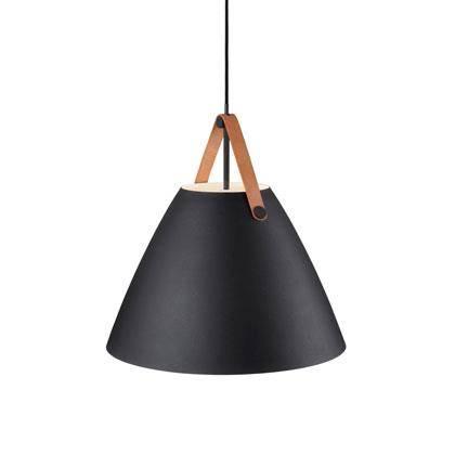 Strap Ø48 Sort Nordlux lampe