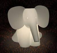 Lampeserien Zoolight er en serie af luksus børnelamper. Når du køber denne søde elefant bordlampe hos Broggerbelysning.dk