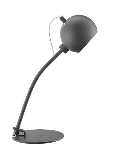 Ball serien udvides med en bordlampe i et nyt design. Smart til det moderne soveværelse