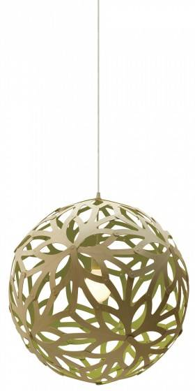 Floral pendlen er baseret på strukturen af ??en geometrisk polyeder Hvert stykke er identisk