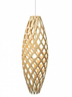 Hinaki pendel fra David Trubridge. Navnet på den aflange pendel