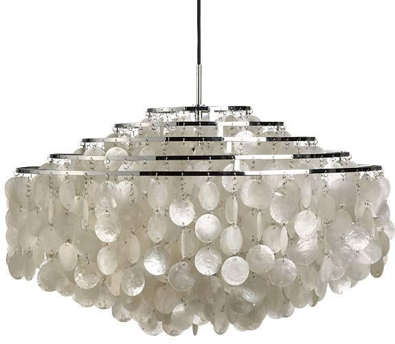 Verner Pantons klassiske hængelampe med fem-rings stel