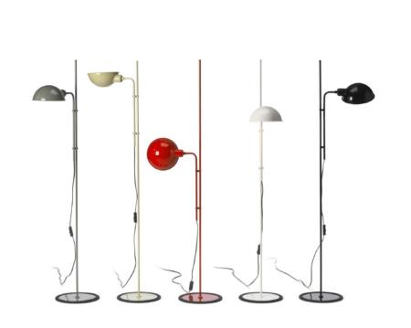 Ren retro. Lampen fra 70erne af den kendte spanske designer Louis Porqueras. Lampen kan indstilles i utallige positioner og højder. Et forfriskende pust til indretningen. Vælg mellem fem forskellige farver.