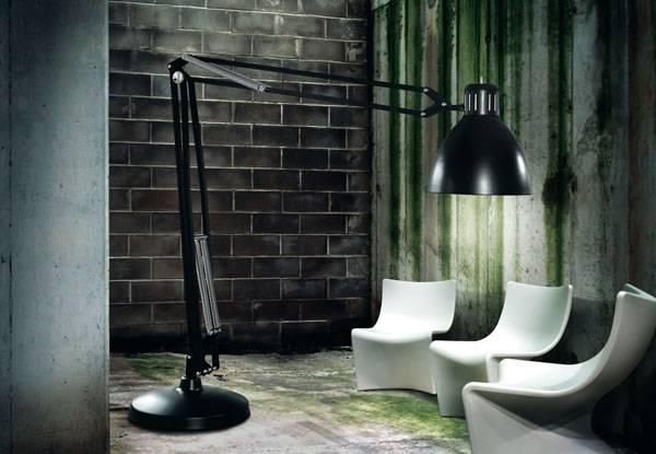 Den originale Arkitektlampe i kæmpe størrelse. Uber cool standerlampe!