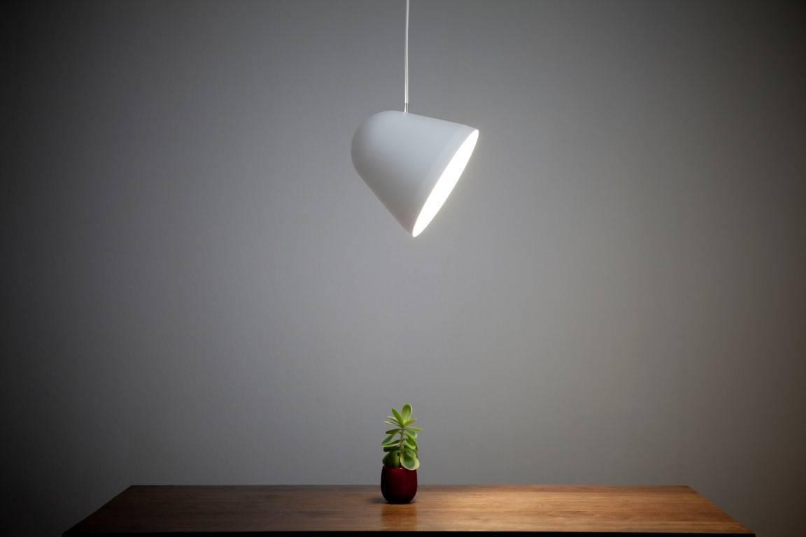 funktionalitet og nytænkning. Lampen tilfører noget nyt