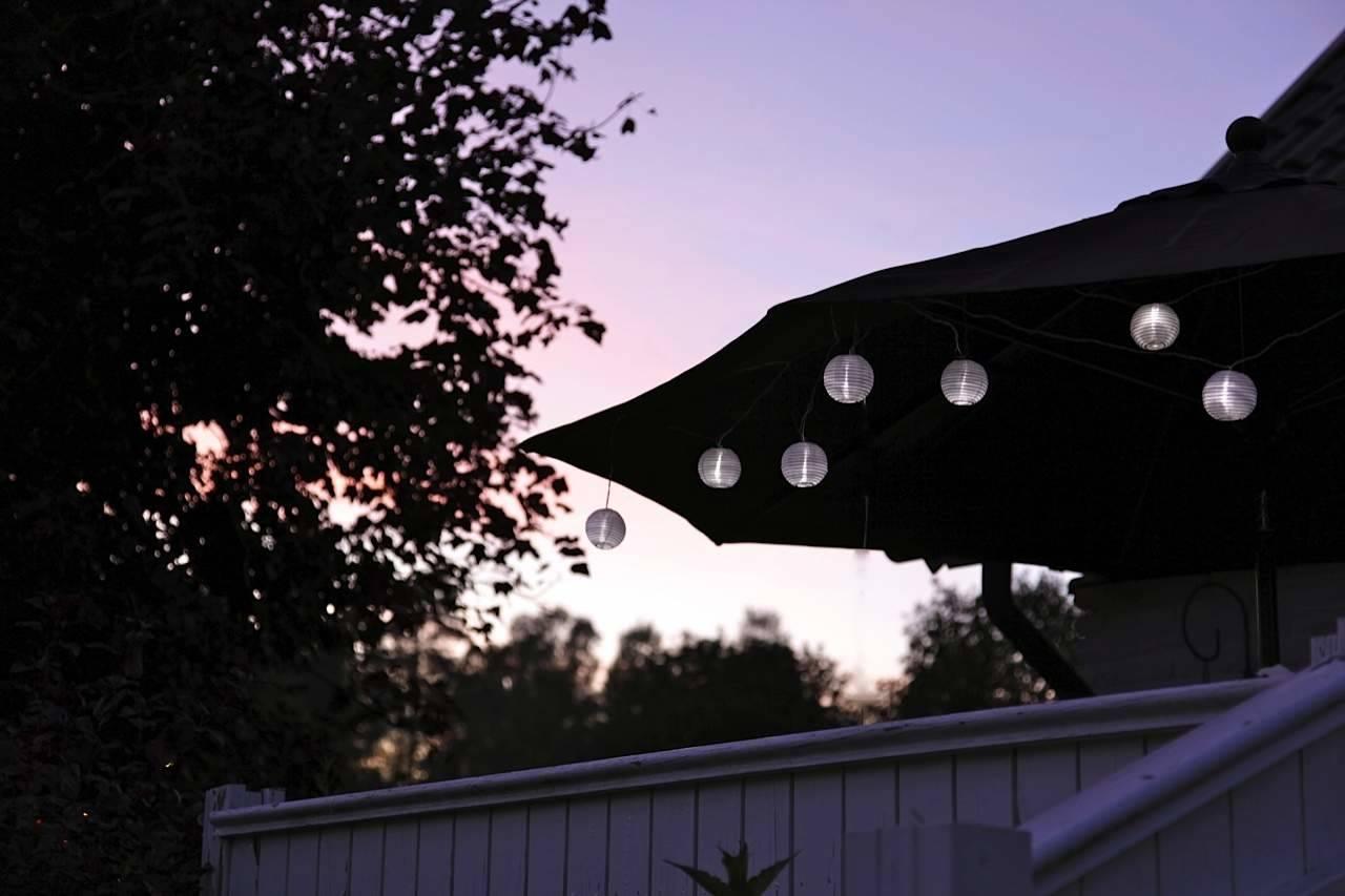 Partylyskæde med besparende LED
