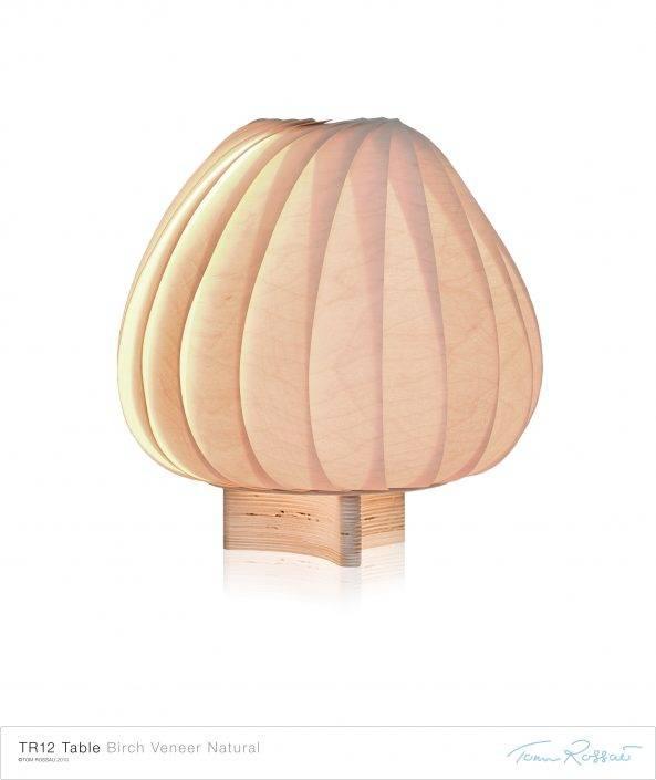 TR12 Bordlampe Birk Natur