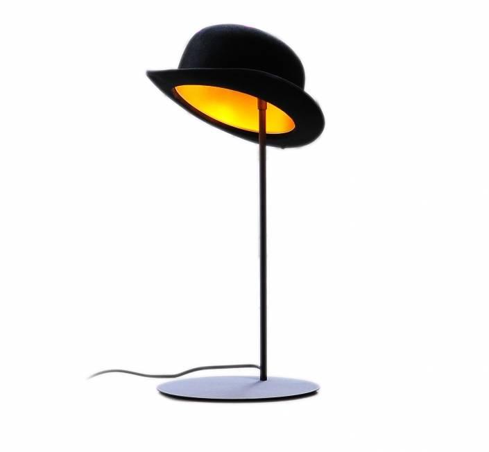 Jeeves bordlampe Sort/Guld