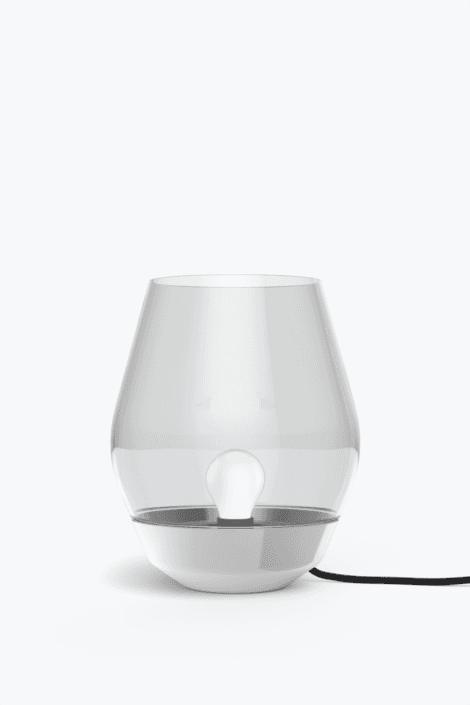 Bowl Bordlampe Rustfri Stål