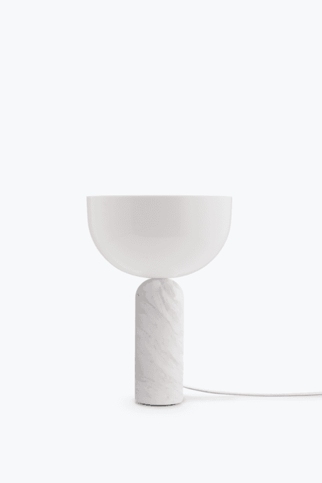 kizu bordlampe hvid