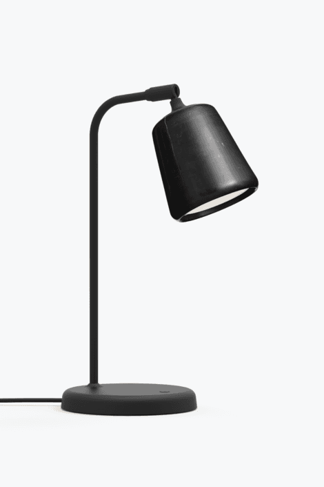 Material Bordlampe Black