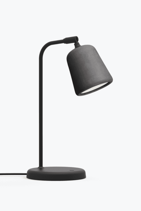 Material Bordlampe Dark Grey