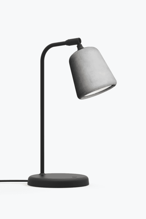 Material Bordlampe Light Grey