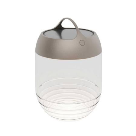 Aqu M Batteri Lampe Udendoers Lys Bronze IP44.de