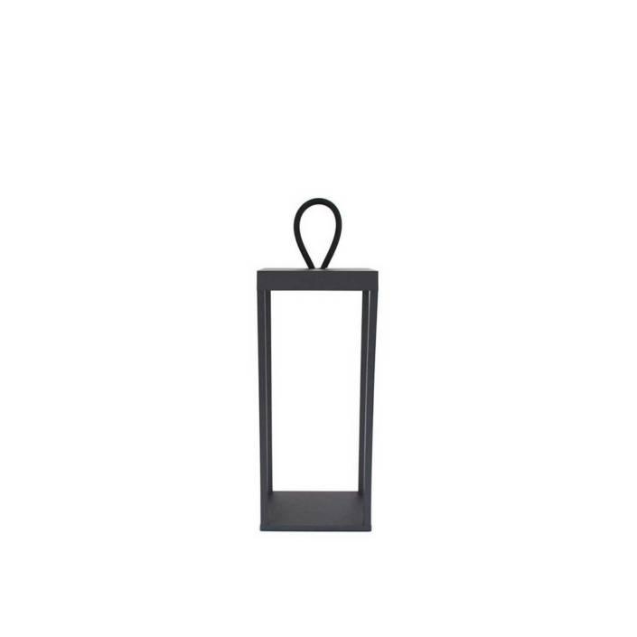 Lucerna 30 Sort Opladelig Batteri Lanterne LOOM Design