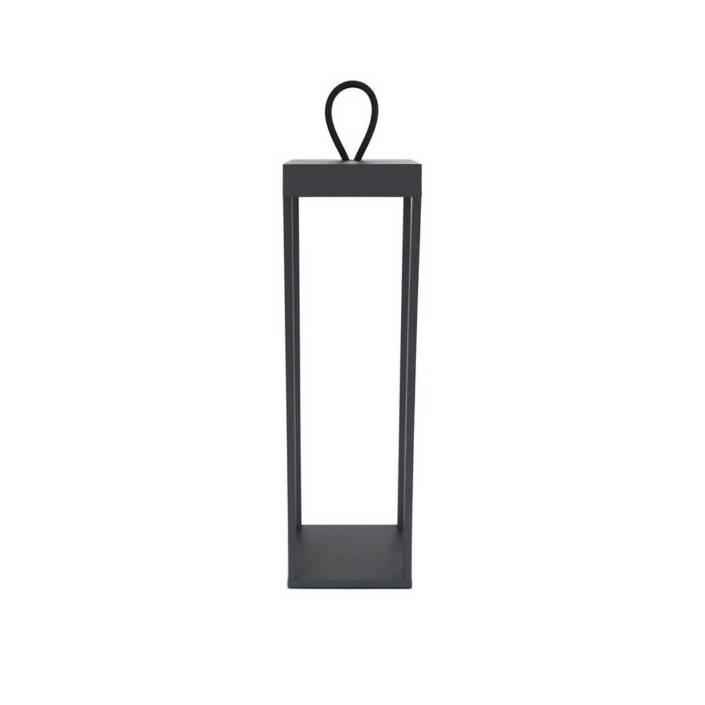 Lucerna 50 Sort Opladelig Batteri Lanterne LOOM Design