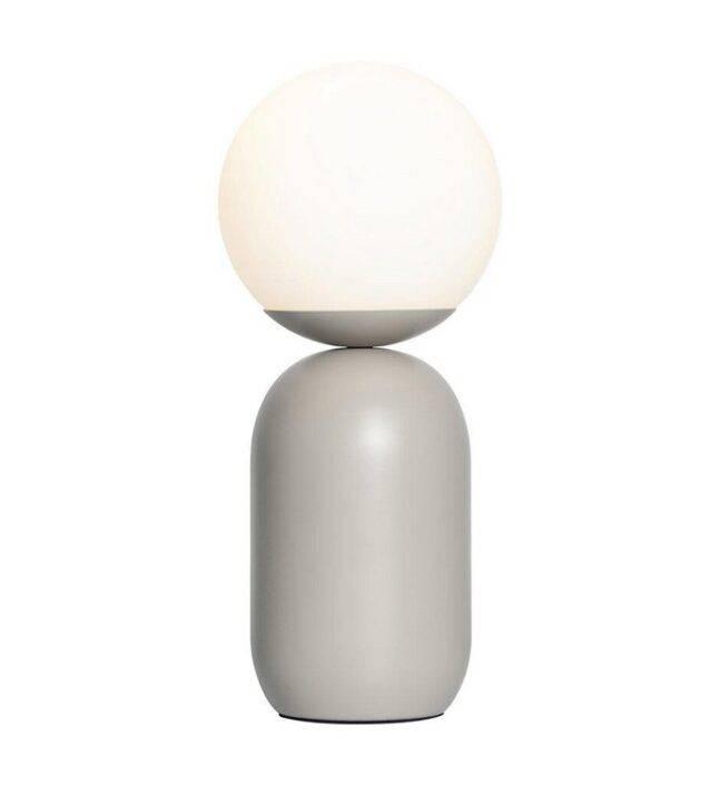 Notti Bordlampe Graa Nordlux 1