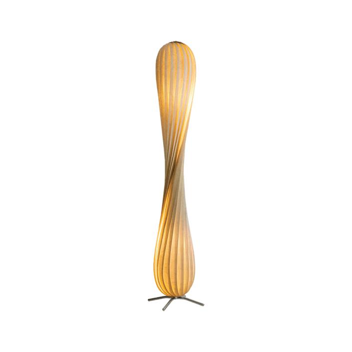 Tr7 Gulvlampe Birk Natur