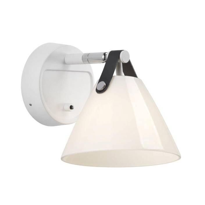 Strap 15 Vaeglampe Opalhvid 1